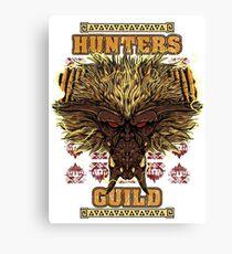 Hunters Guild - Rajang Canvas Print