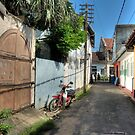 Streets of Galle Fort by Dilshara Hill