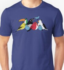 Furious Feathered Friends Unisex T-Shirt