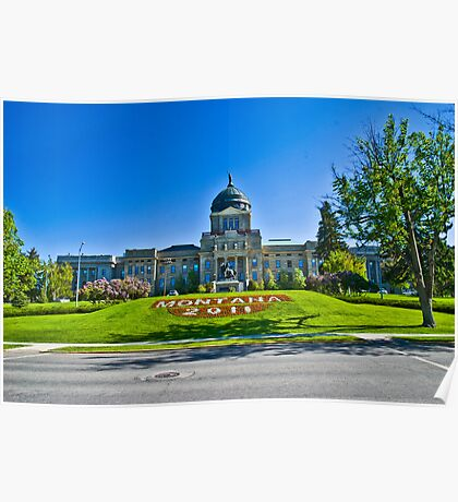 The Montana State Capitol, 2011 Poster