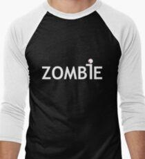 Zombie Corp T-Shirt Dark Men's Baseball ¾ T-Shirt