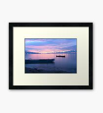 AREIA BRANCA BEACH - Dili's night life is filled with beauty & mystery Framed Print