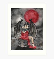 Creature of the Night Art Print