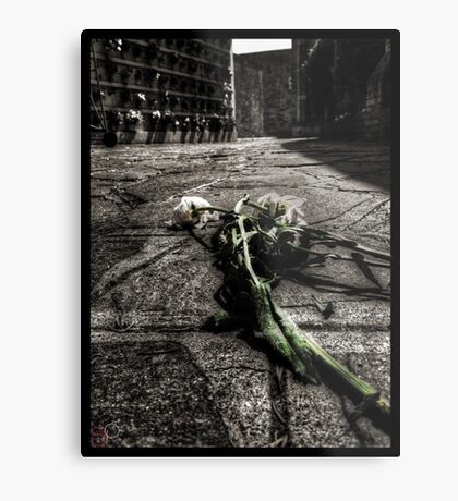 Dying Among The Dead Metal Print