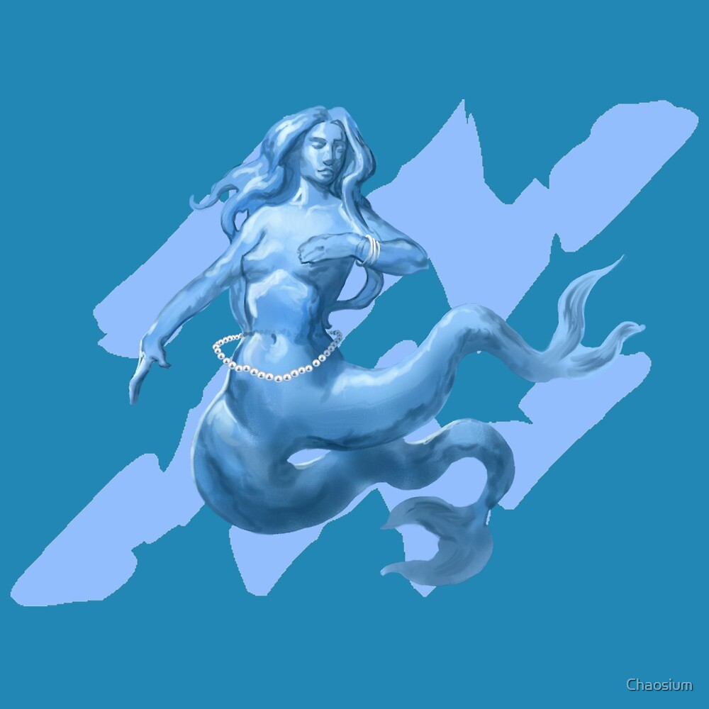 Water Elemental by Cory Trego-Erdner by Chaosium