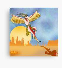Angel of the Plains Landing. Canvas Print