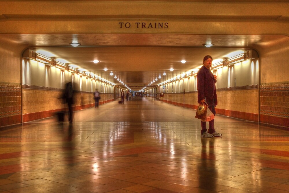 To Trains by Darryl Ford