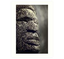 Faces of Fiji I Art Print