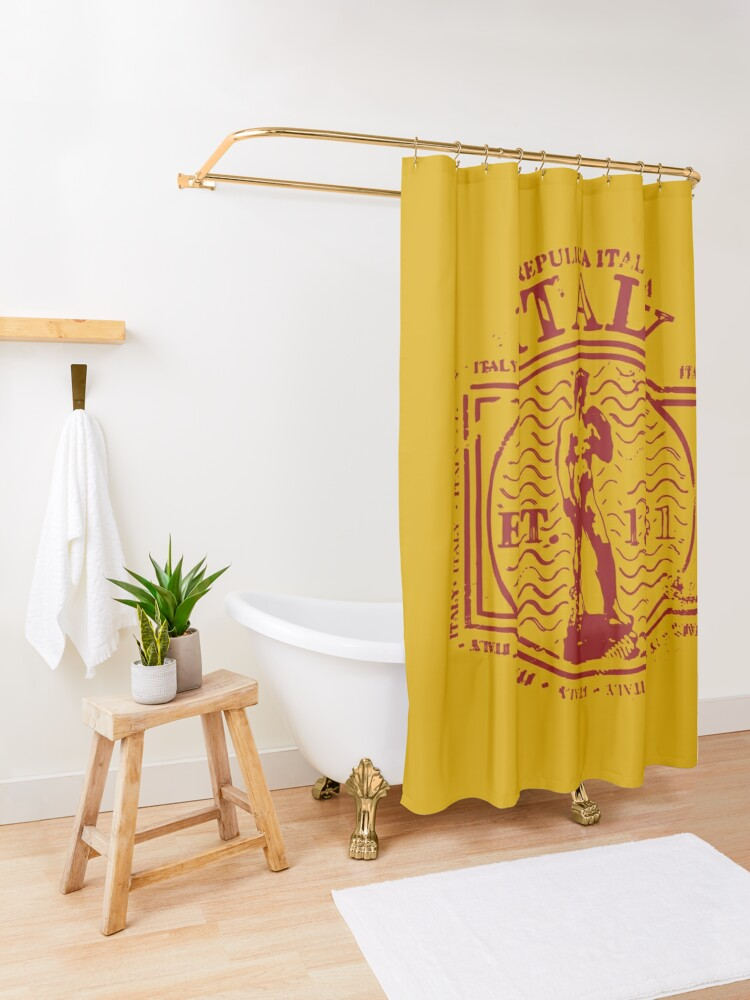 Alternate view of Italy Shower Curtain