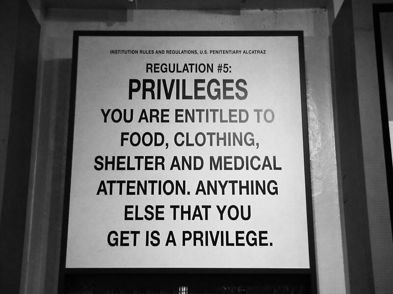 Quot Alcatraz Prison Regulation 5 Quot By Headsortails Redbubble