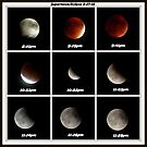 Supermoon & Eclipse - September 27, 2015 by FrankieCat