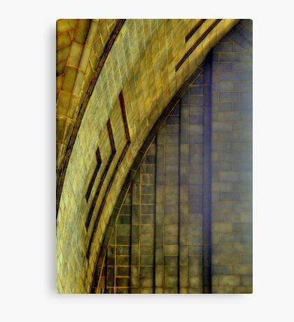 Buffalo Downtown Terminal Designs 1 Canvas Print