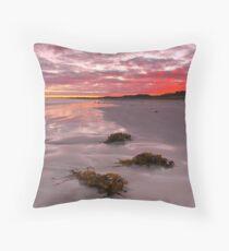 Daybreaking, Long Beach, Robe, SA Throw Pillow