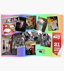 International T-shirt Day in Zwolle Holland 2011 Poster
