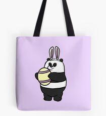 Easter Panda Bear - We Bare Bears Tote Bag