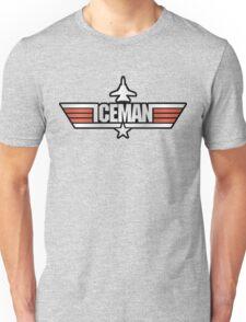 Top Gun Iceman Gray T-shirt for Adults