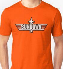 Top Gun Sundown (with Tomcat) Unisex T-Shirt