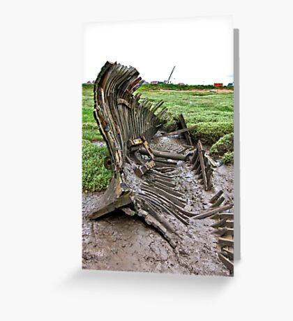 Skeleton Coast Greeting Card