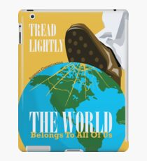 Conservation Propaganda iPad Case/Skin