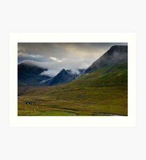 Minginish, Glen Brittle. Isle of Skye Art Print