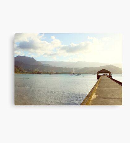 Kauai Pier Canvas Print