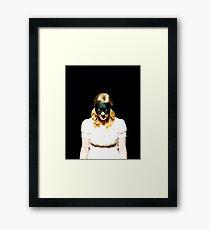Melancholic Goldilocks Framed Print