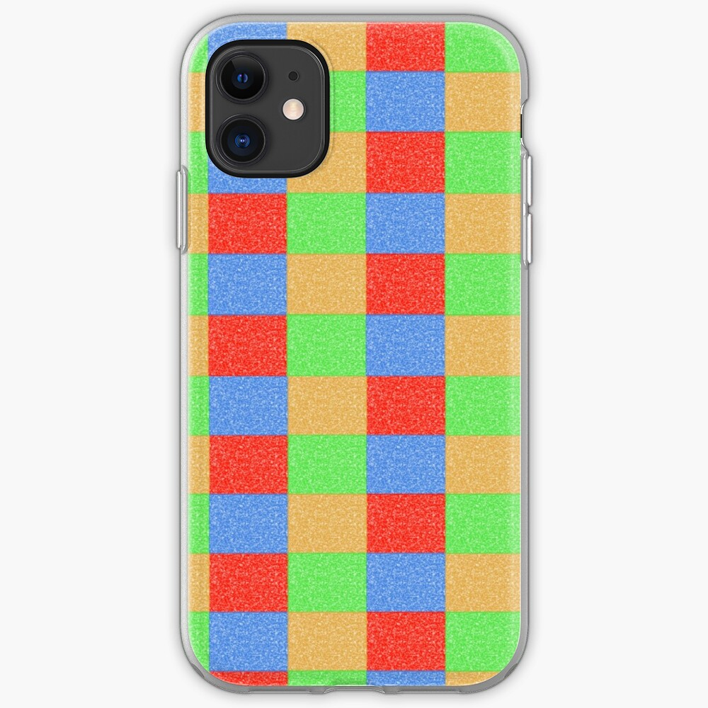 Colorful Patchwork iPhone Case & Cover