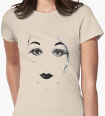 Woolly Retro Women's Fitted T-Shirt