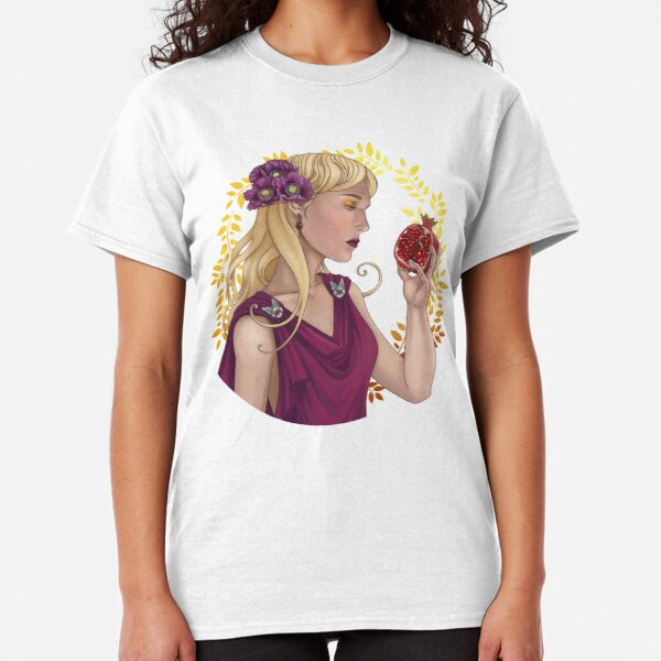 Persephone with pomegranate Classic T-Shirt