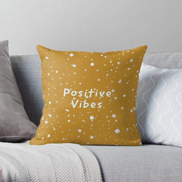 Positive Vibes Throw Pillow