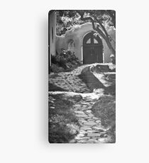Old Taos Guesthouse Metal Print