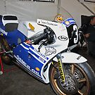 Joey Dunlop 1988 250cc bike.  by Fred Taylor