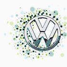 The Abstract Circular VW Badge 2  by jay007