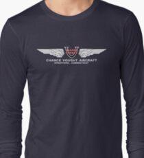 Chance Vought Aircraft Logo (White)  T-Shirt
