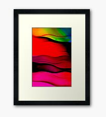 Abstract color background Framed Print