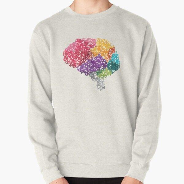 Gehirn Regenbogen Pullover