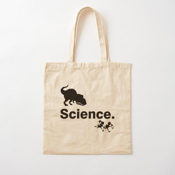 Vorsicht vor der Wissenschaft Baumwolltasche