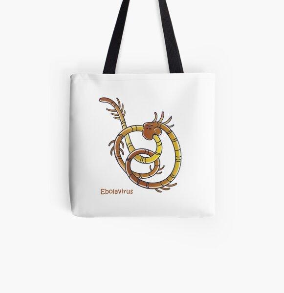 Ebolavirus Allover-Print Tote Bag
