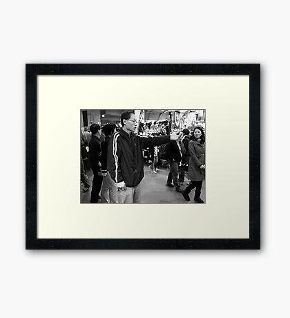 The Confrontation Framed Print