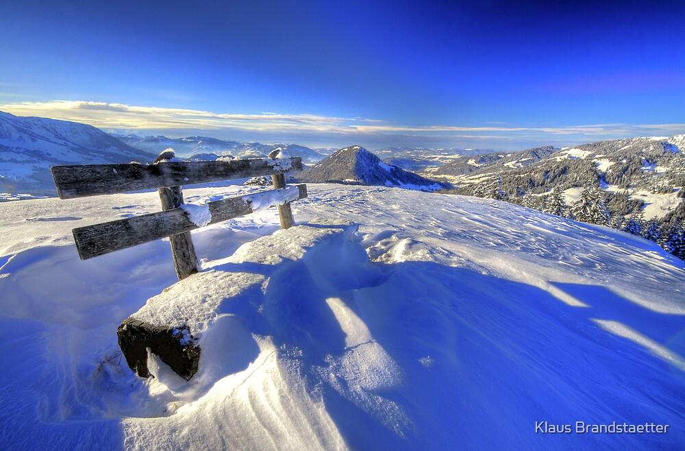 Bregenzer Wald Panorama Winter by Klaus Brandstaetter