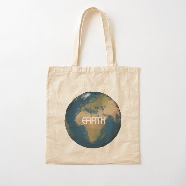 Planet Erde Baumwolltasche