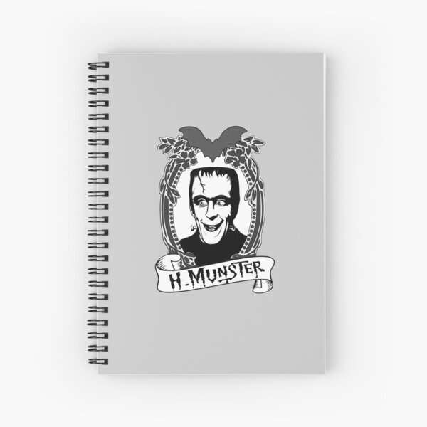Herman Munster - The Munsters Spiral Notebook