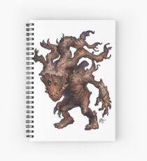 Burl Spiral Notebook