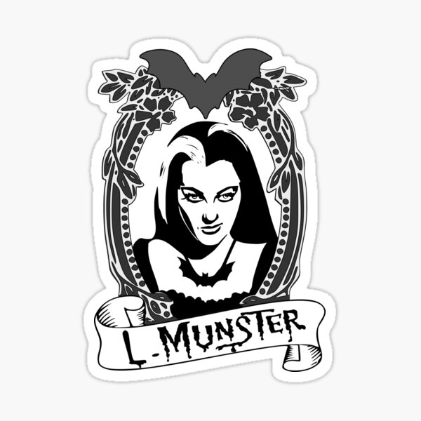 Lily Munster - The Munsters Sticker
