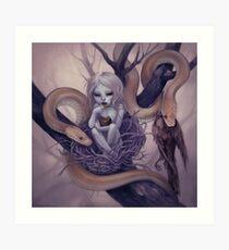 snake child Art Print
