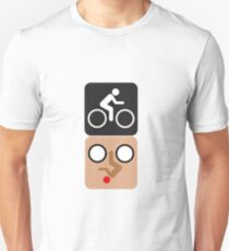 Bicycle Face! T-Shirt
