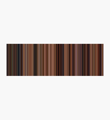 Moviebarcode: Ratatouille (2007) [Simplified Colors] Photographic Print
