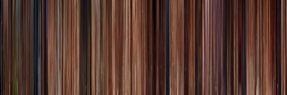 Moviebarcode: Ratatouille (2007) by moviebarcode