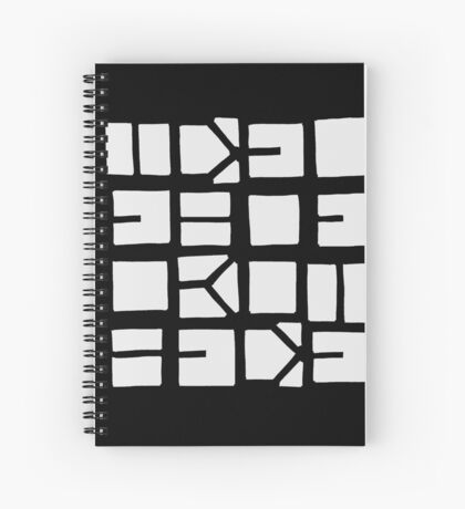 IDEL... (WHITE SPACE) Spiral Notebook
