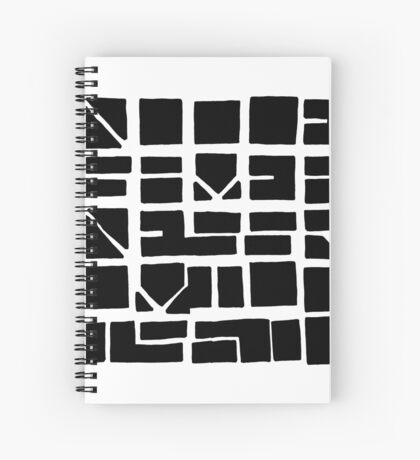 NUCLE... (BLACK SPACE) Spiral Notebook